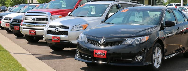 Toyota Certified Markquart Toyota Dealer Near Eau Claire