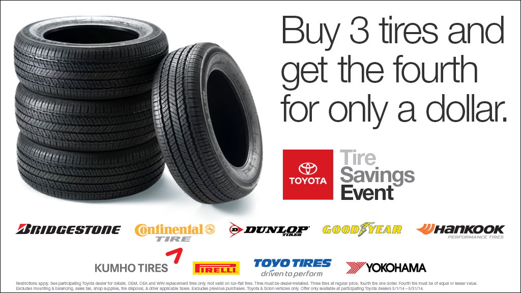 Toyota Tire Sale >> Tire Sale At Toyota Dealer In Eau Claire Wi News