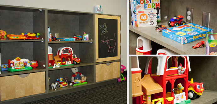 Auto Repair Children's Waiting Room Update Eau Claire | Dealer