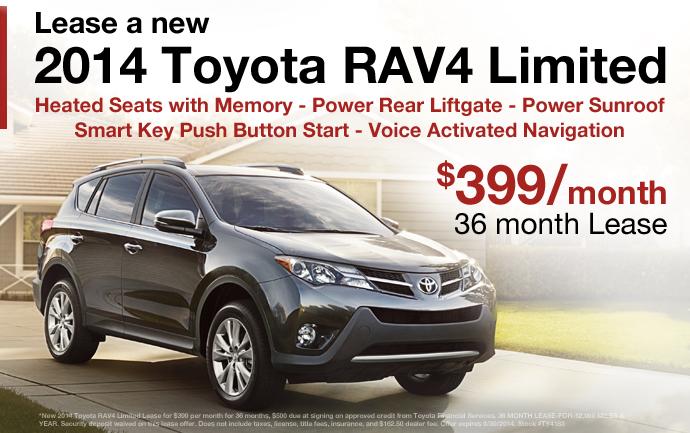 Toyota Rav4 Lease Deals Zero Down Lamoureph Blog