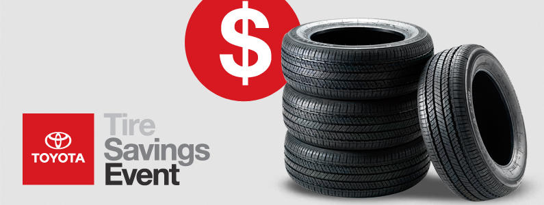 Toyota Tire Sale >> Toyota Tires For Sale Near Eau Claire Markquart Toyota Products