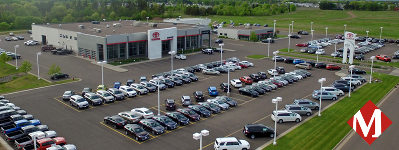 Toyota dealer in wisconsin markquart dealer for Markquart motors eau claire wisconsin