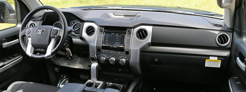 Toyota Tundra Interior | Markquart near Eau Claire | Dealer