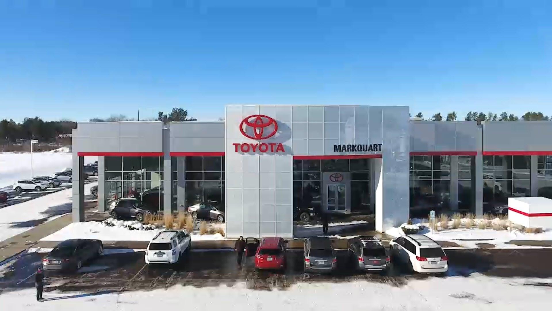 Toyota Dealers Near Me >> Markquart Toyota Dealer Near Eau Claire New Used Car